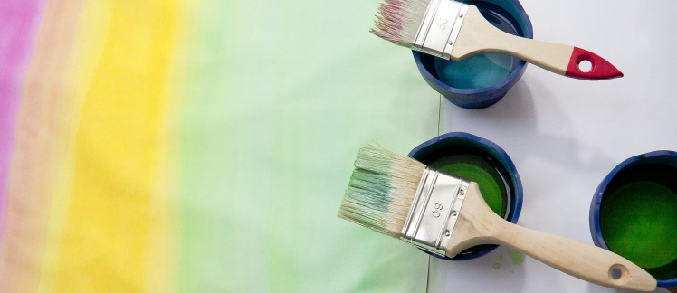 Selecting and caring for your paint brushes